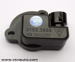 Бесконтактный датчик положения дроссельной заслонки (ДПДЗ) 3102.3855 предназначен для формирования напряжения...