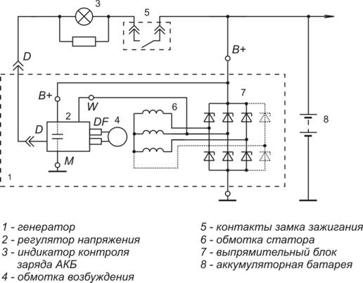 Схема включения регуляторов
