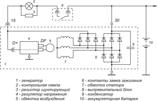 ...в твоей схеме маленький косяк - это в настоящее время типовая схема подключения автогенераторов с РР...