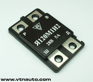 Voltage regulator JA120M1 version 2